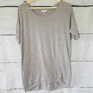 Cabi Textured Gray Tunic